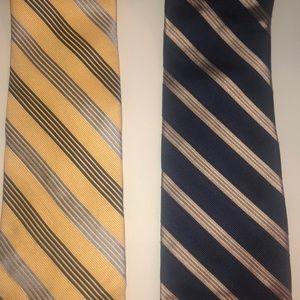 Nautica Silk Tie Bundle